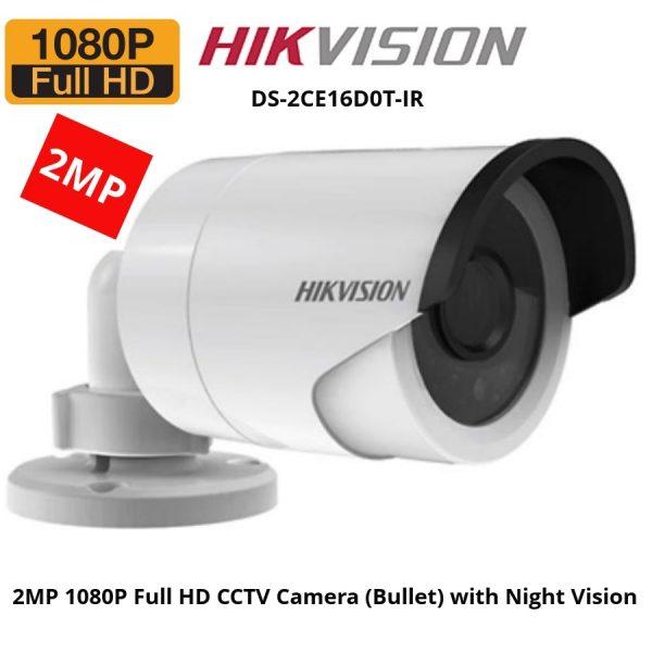 Hikvision DS 2CE16D0T IR HDTVI Camera Bangladesh