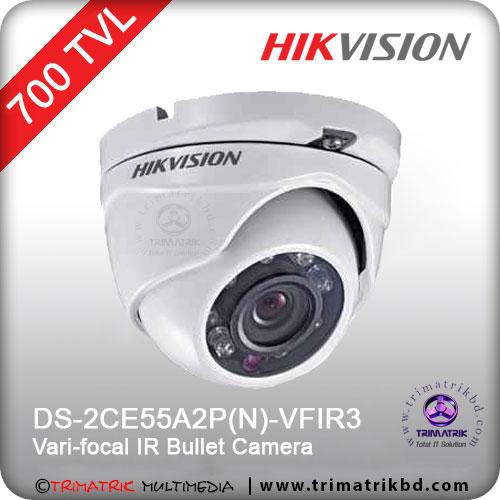 HIKVISION DS 2CE55A2PN VFIR3 cctv camera bangladesh