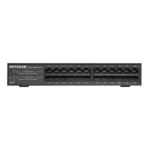 Netgear GS324 Bangladesh, 24-Port Gigabit Rackmount Switch bd, TRIMATRIK