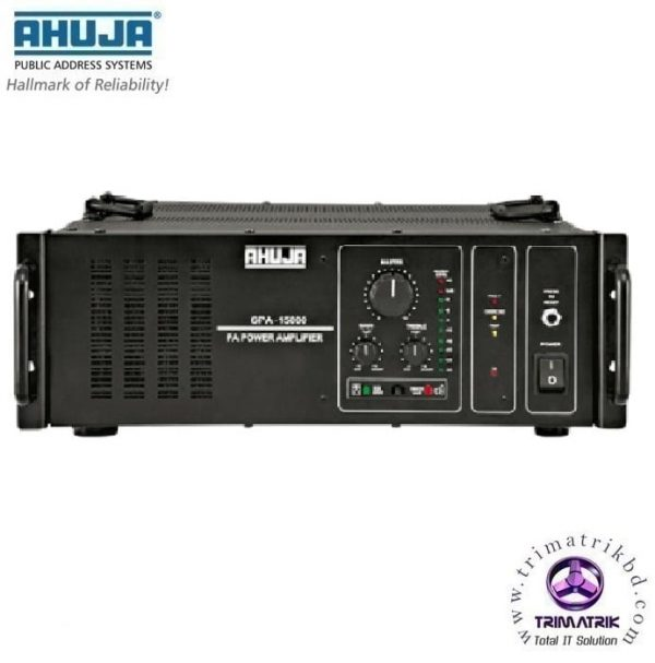 Ahuja SPA 15000 Bangladesh 1500 Watts High Power PA Amplifier Trimatrik